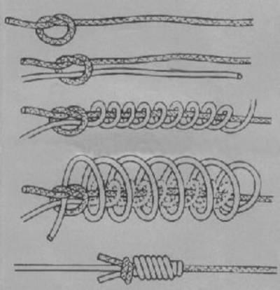 как связать леску плетенку с плетенкой
