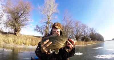 Можно ли поймать зимой сазана, Советы о рыбалке - как и где ловить рыбу