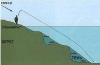 хорошие места для ловли судака