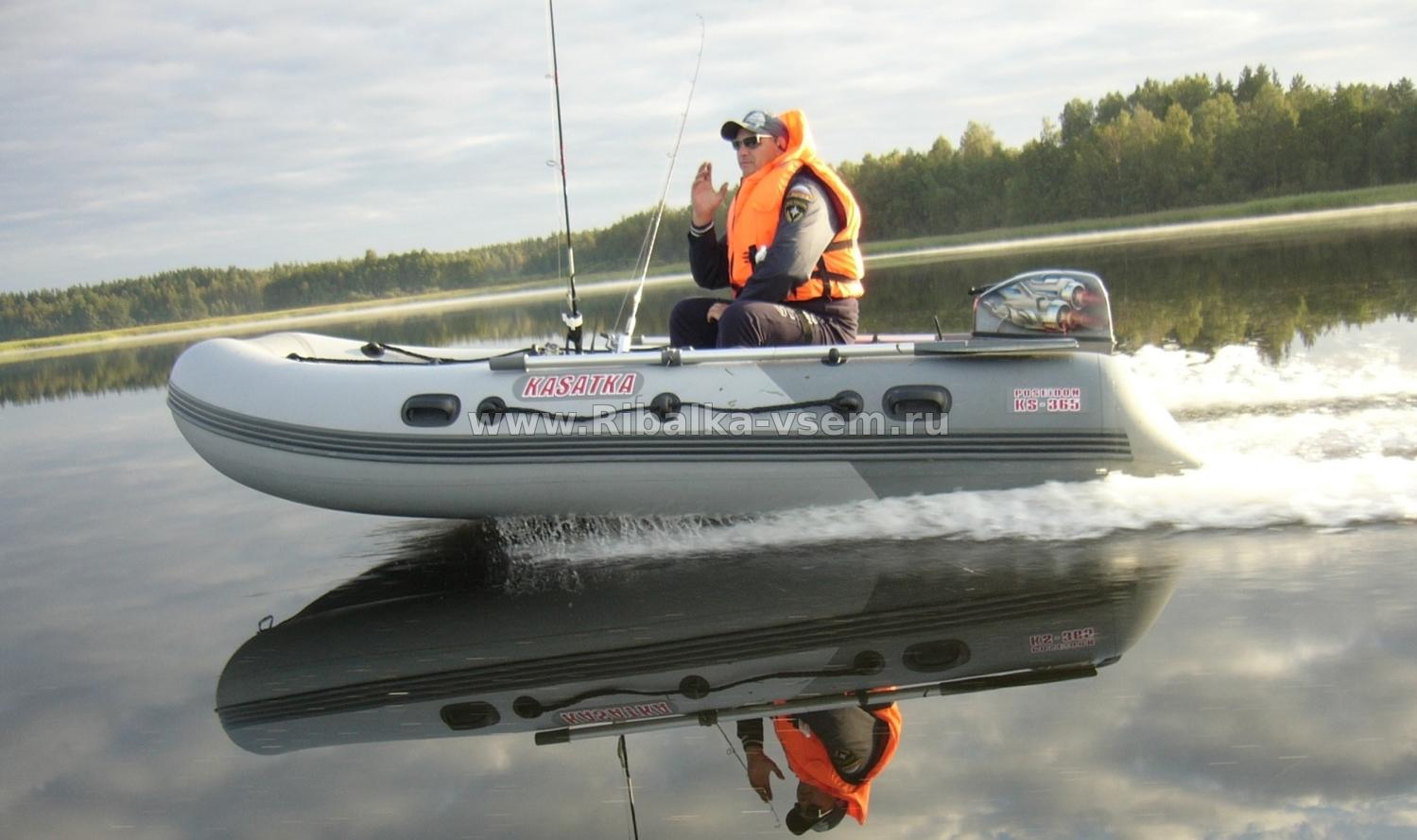 какой катер нужен для рыбалки
