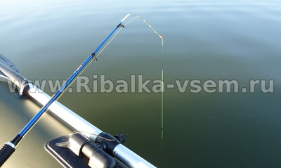 Рыбалка зимой на покаток