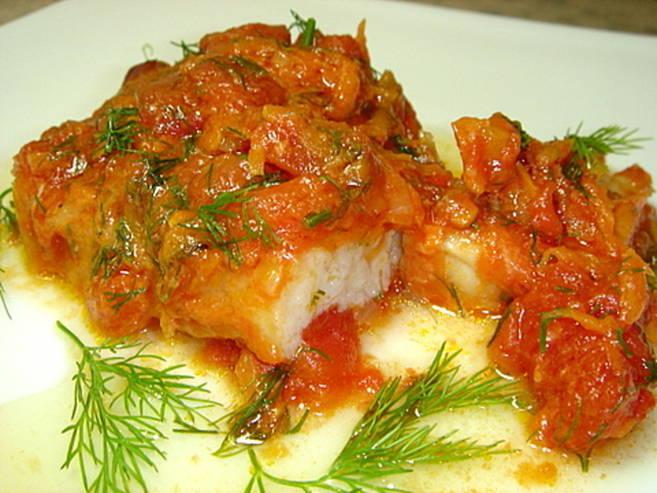 Рыба в духовке с овощами рецепт с пошагово в