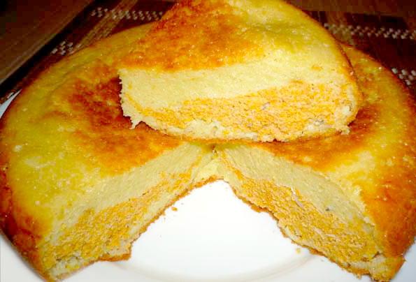 Пирог с икрой карася и картофелем - рецепт пошаговый с фото